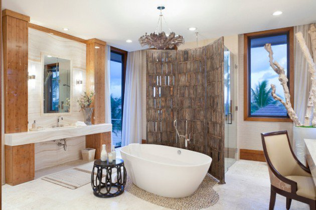 Bathroom With a Mediterranean Design Vibe