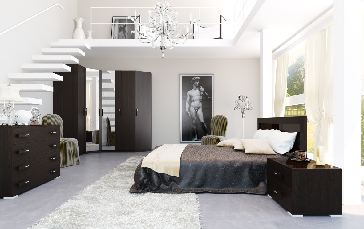 25 Black and White Glamour Decor Inspirations 12