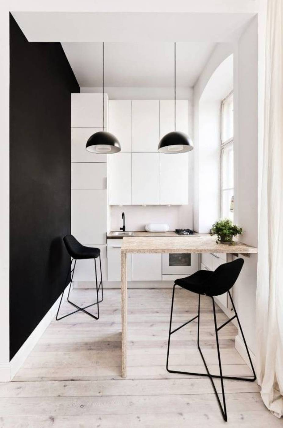 25 Black and White Glamour Decor Inspirations 16