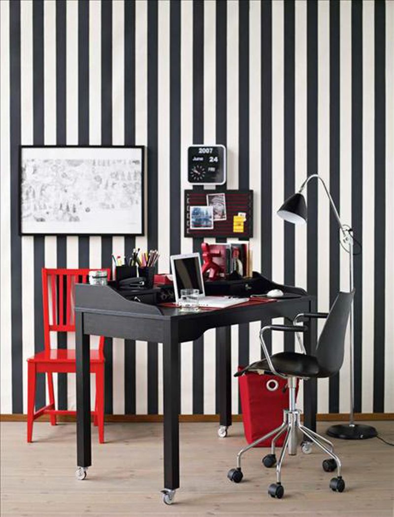 25 Black and White Glamour Decor Inspirations 19