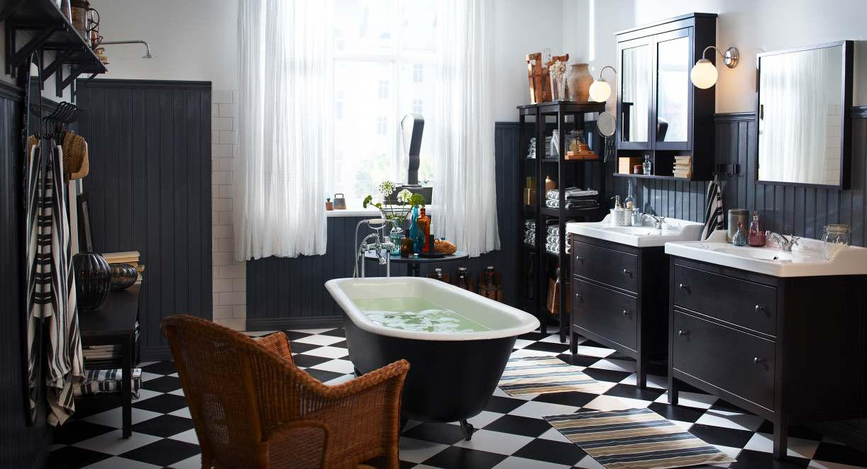 black white and grey bathrooms. 25 Black and White Glamour Decor Inspirations 2