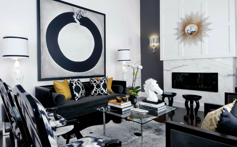 25 Black And White Decor Inspirations