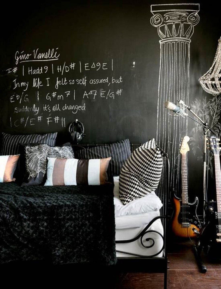25 Black and White Glamour Decor Inspirations 23