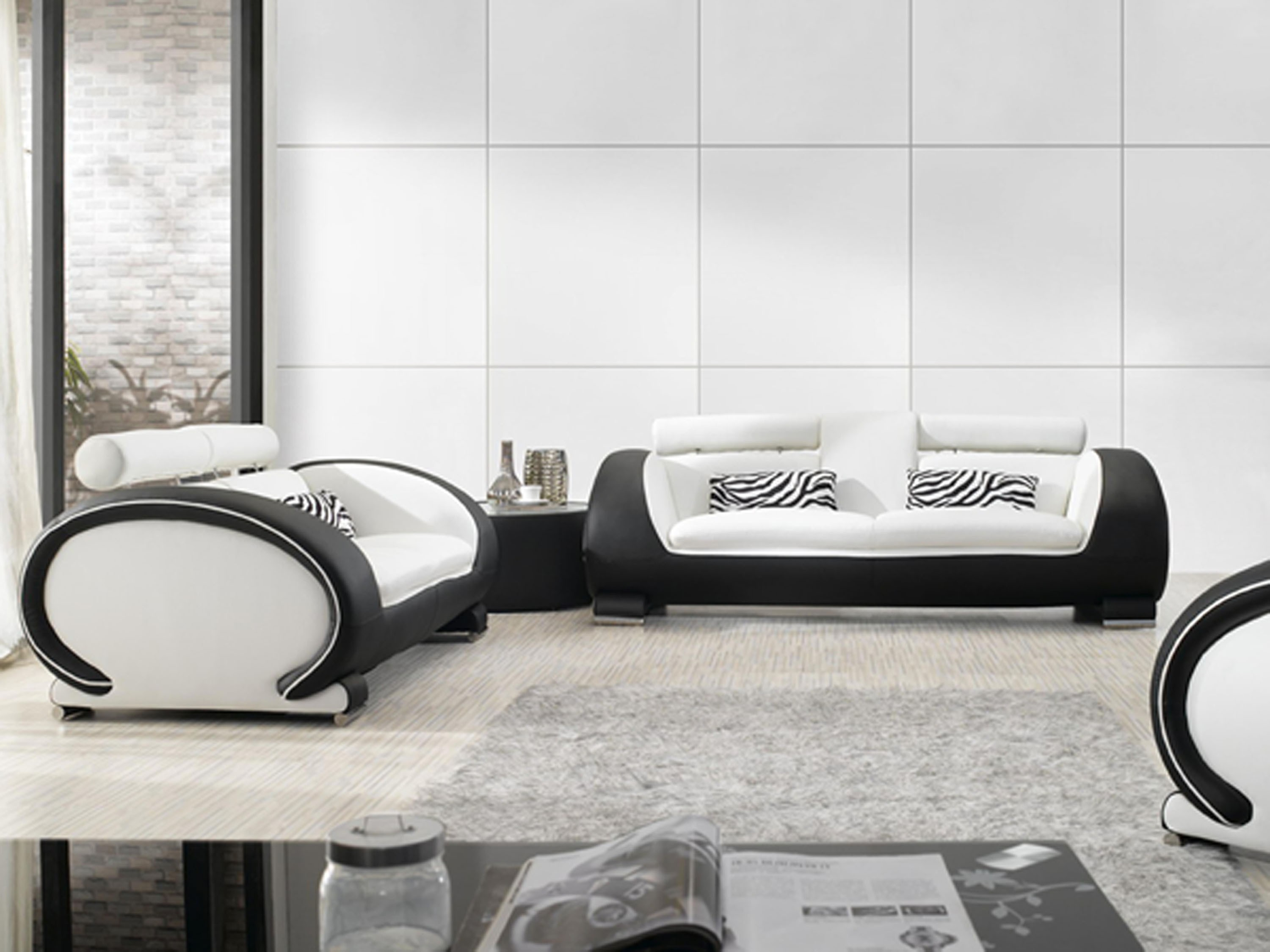 25 Black and White Glamour Decor Inspirations 25