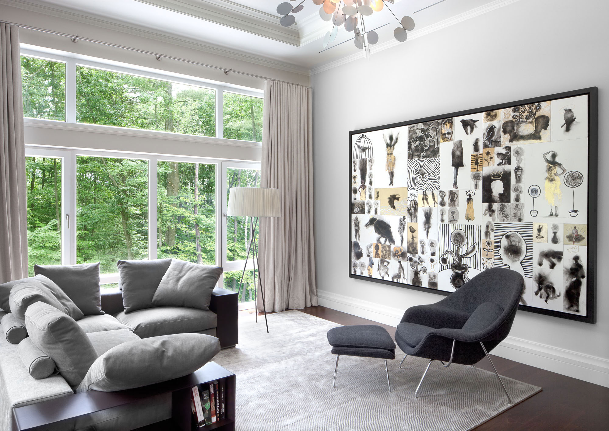 25 Black and White Glamour Decor Inspirations 4