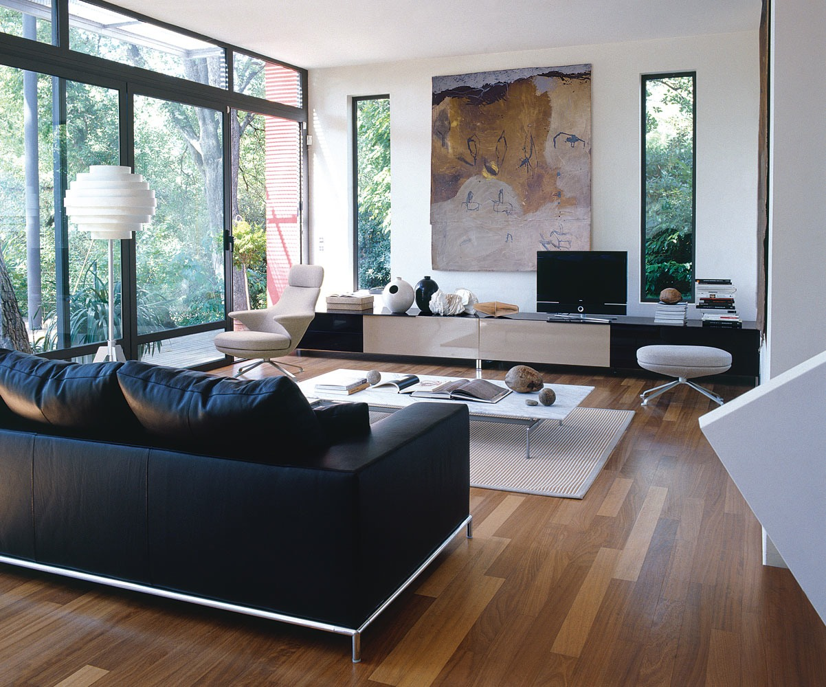 25 Black and White Glamour Decor Inspirations 7