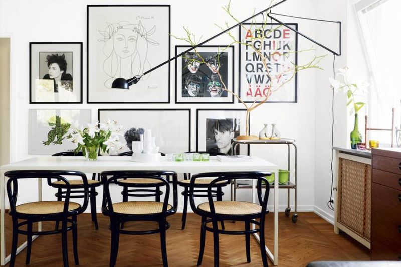 Rich Black Color Scheme 25 And White Glamour Decor Inspirations 9