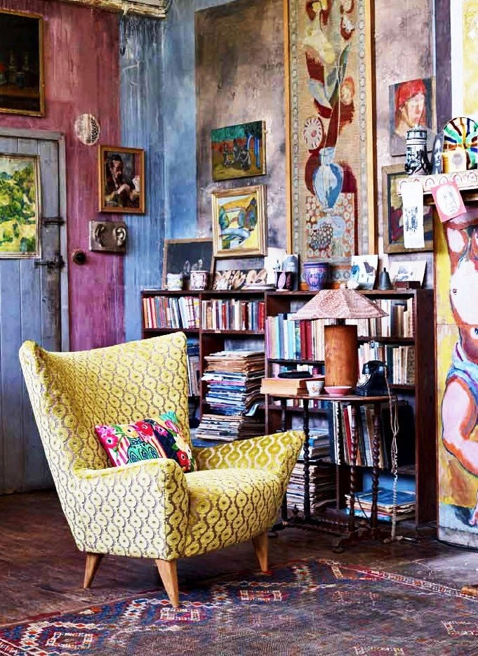 41 inspiring bohemian homes - Boho chic living room decorating ideas ...
