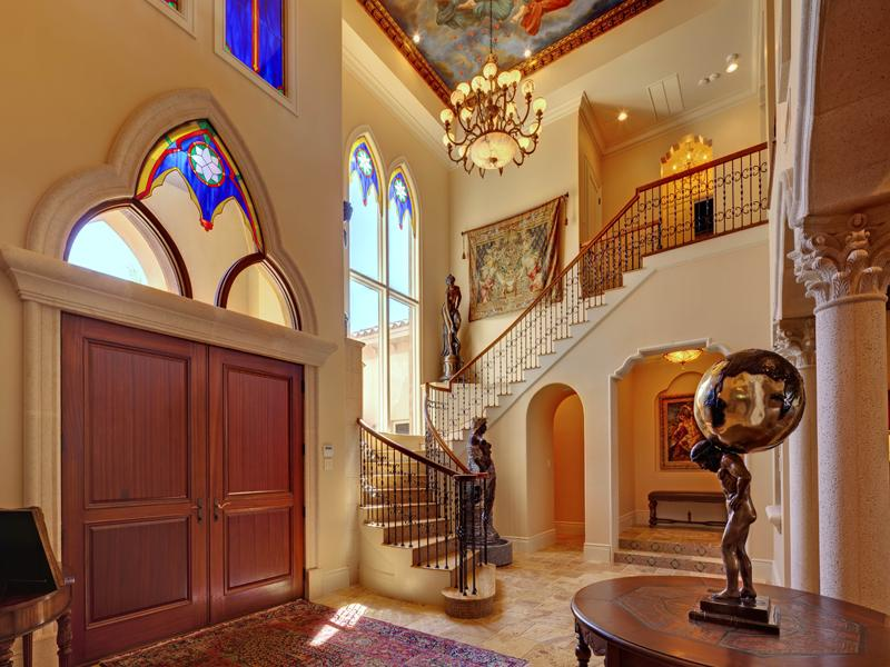 A Mediterranean- Modern -Mansion- Designed- in- Moorish- Style