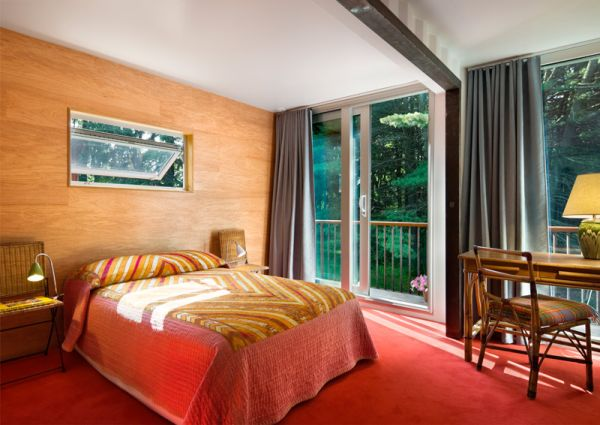 Colorful and Bright Bedroom in the Old Lady House
