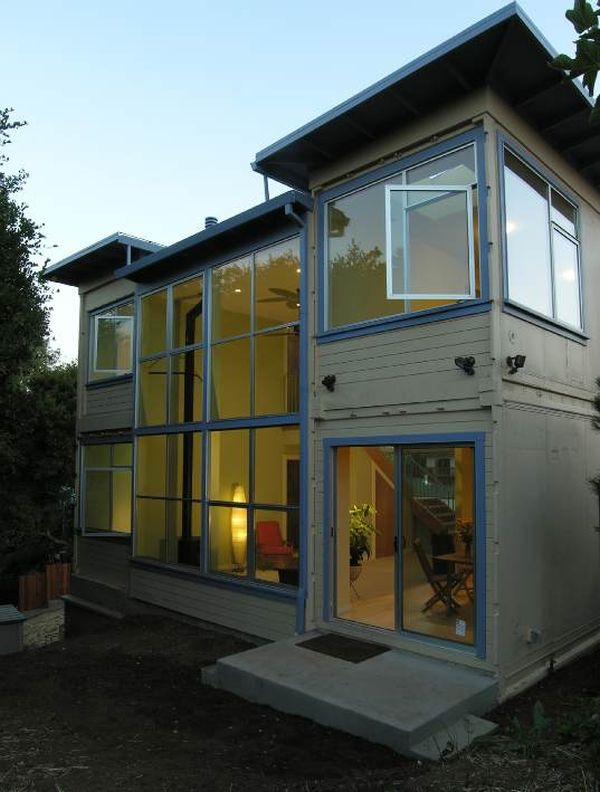 25 shipping container homes structures designed with an - Shipping container homes pictures ...
