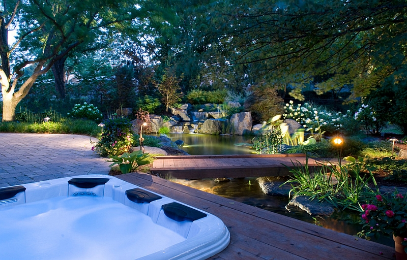 Natural Chemical Free Swimming Pool Design Enhancing A Magnificent  Mesmerizing Backyard