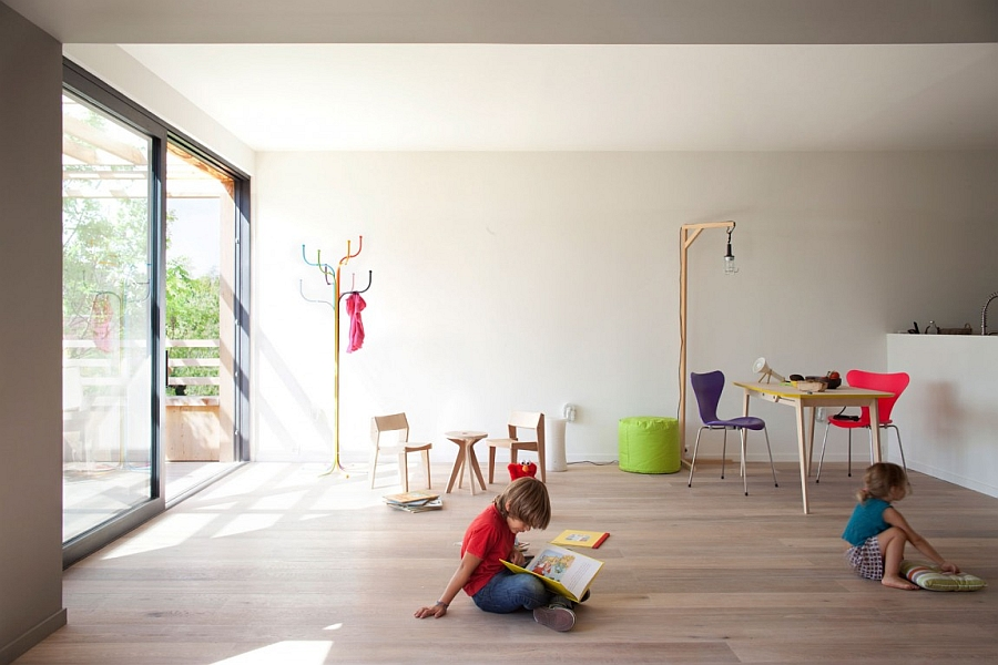 Simple Colorful and Playful Decorations are Dynamically Shaping the Playground