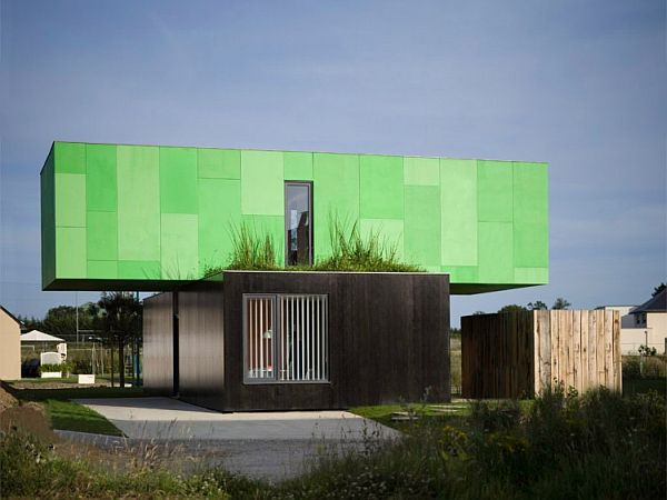 CrossBox Shipping Container Home With a Modern Look