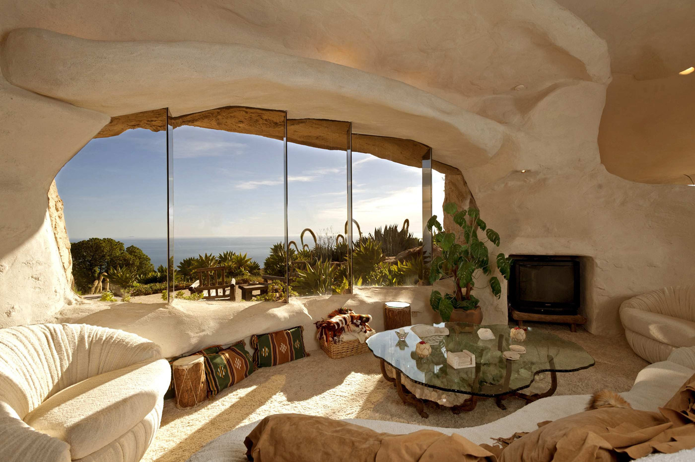 Dick Clark's- The Flintstones -Inspired- Home -in Malibu