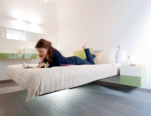Jaw Dropping Design in an Extreme and Exclusive Floating Bed