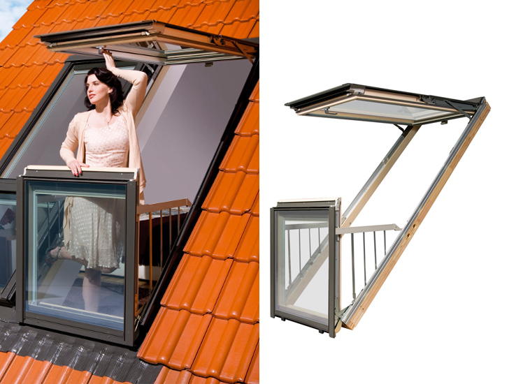 Fakro's World`s First Innovative Windows Transforming Into Airy Rooftop Balconies homesthetics (1)