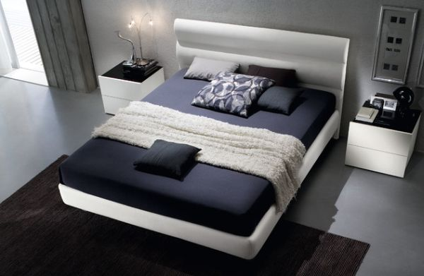 Floating Bed Upholstered In A Beautiful Eco Leather Respecting The  Envinronment