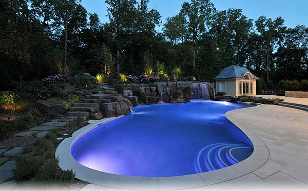 Charming Amp Spectacular Pool Waterfalls To Fashion Every