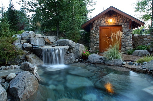 Charming & Spectacular Pool Waterfalls To Fashion Every ...