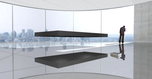 Impeccable Magnetic Floating Bed For The Most Exclusive Bedroom