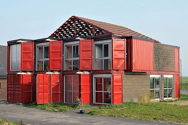 Maison Container Home Realized by Patrick Partouche