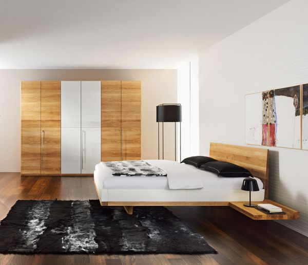Modern Bedroom with a Chic Warm and Cozy Atmosphere