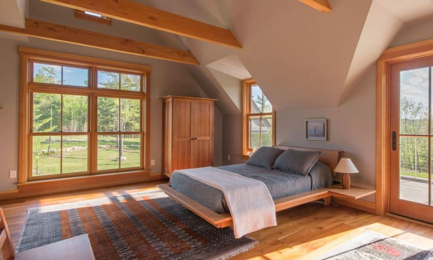 Mountain-bow-house-with-floating-bed