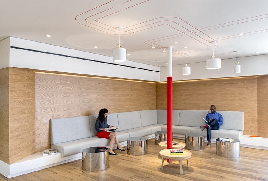 Interactive and Creative Relaxing Spaces in Lobby Areas