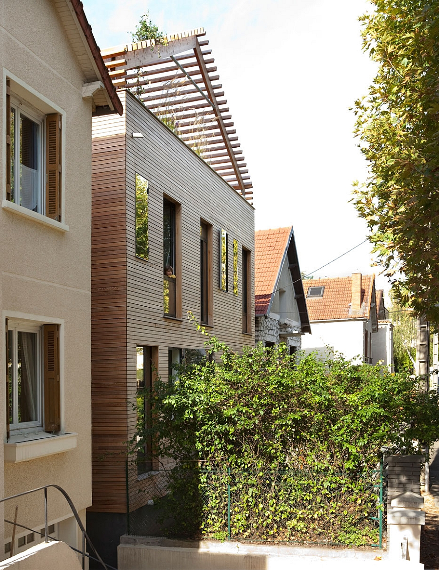 The Street Facade Offers Intimacy