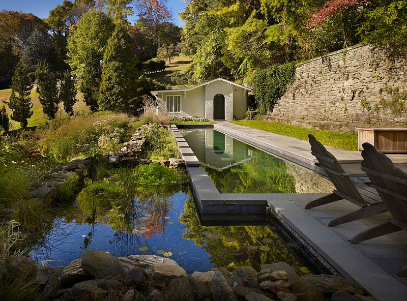 Natural Landscape Complementing and Idyllic Landscape Beautifully