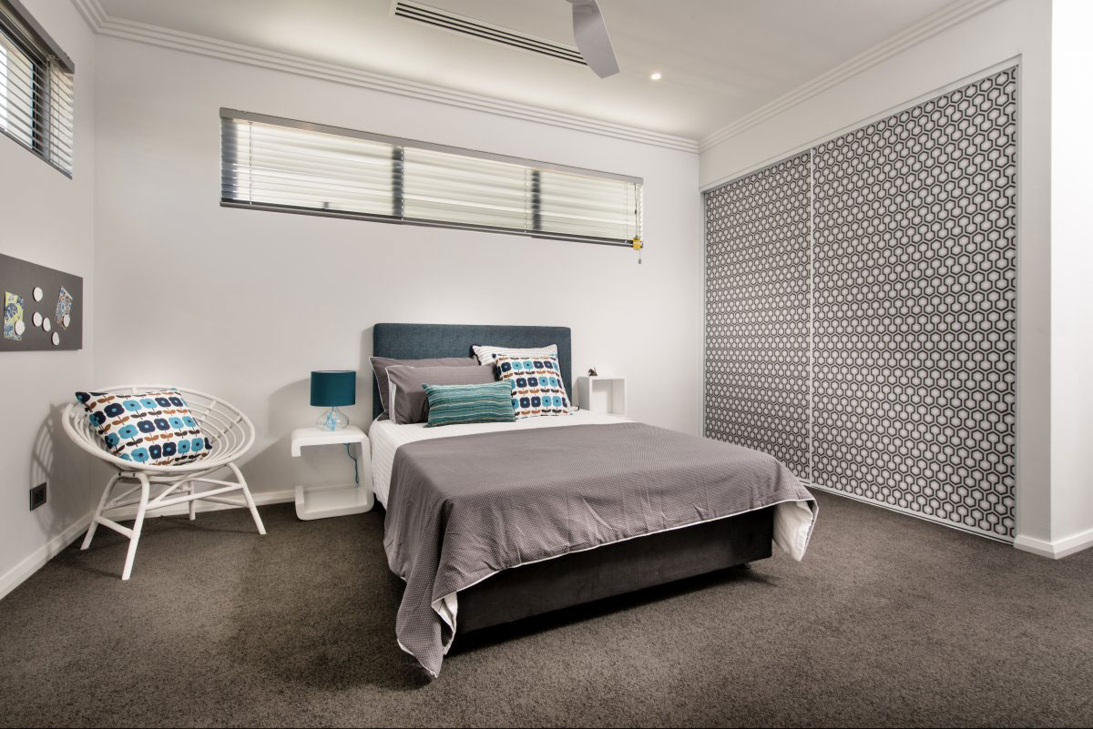 The Empire Residence in Australia by Residential Attitudes   bedroom design
