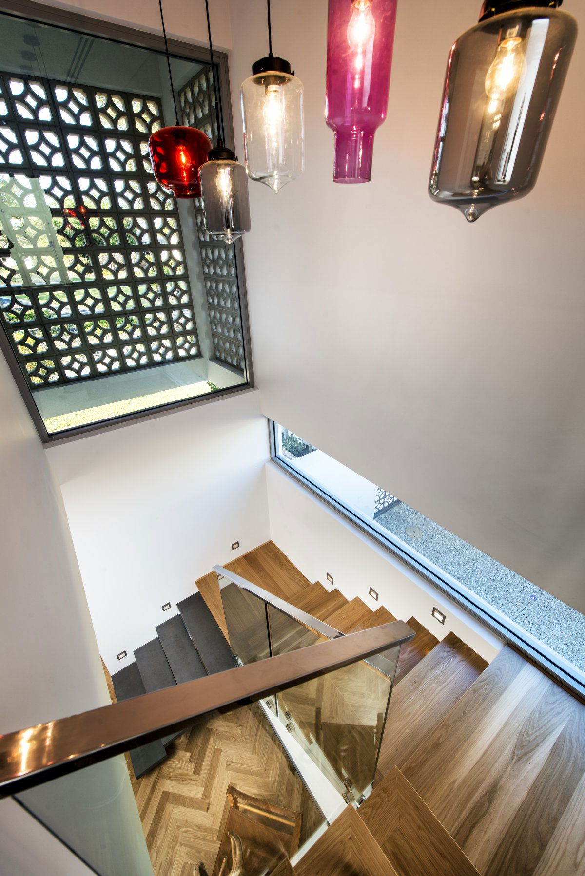 The Empire Residence in Australia by Residential Attitudes   staircase