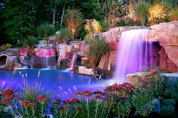 Charming Amp Spectacular Pool Waterfalls Fashion Every