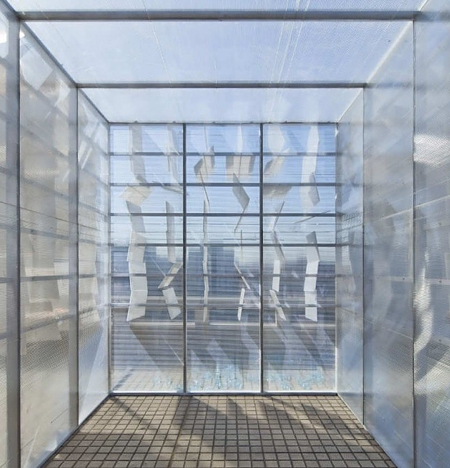 Unique Urban Insertion-The Cloud Room in Beijing by One Design Homesthetics
