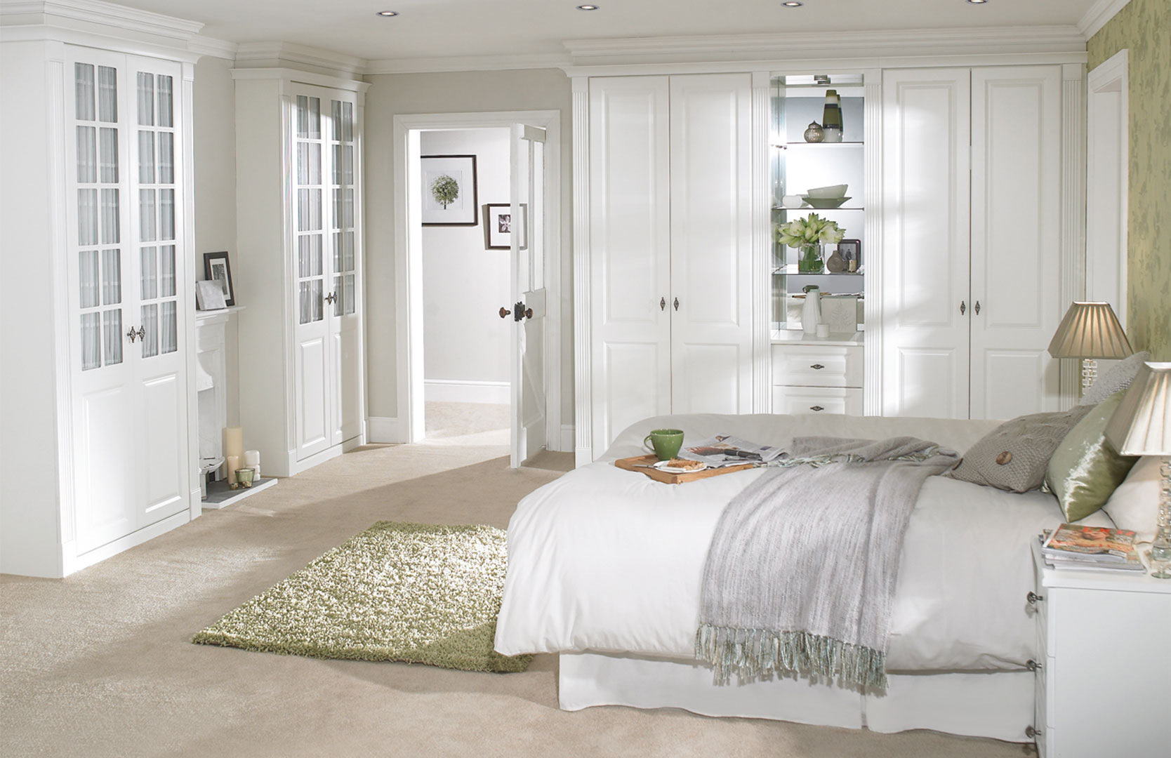 White bedroom design ideas collection for your home - Idea for decorating bedrooms ...