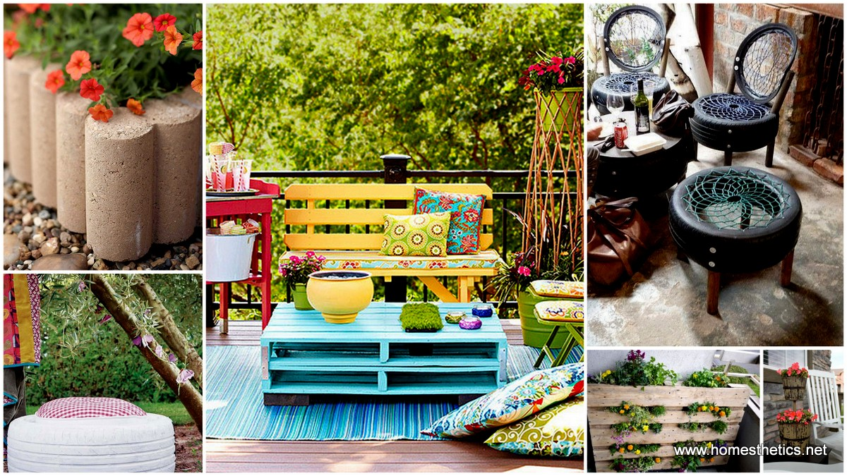 10 easy diy garden furniture projects meant to inspire you - Garden Furniture Diy
