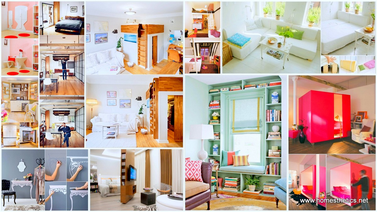 10 creative and ingenious ideas for small space interiors for Small space ideas