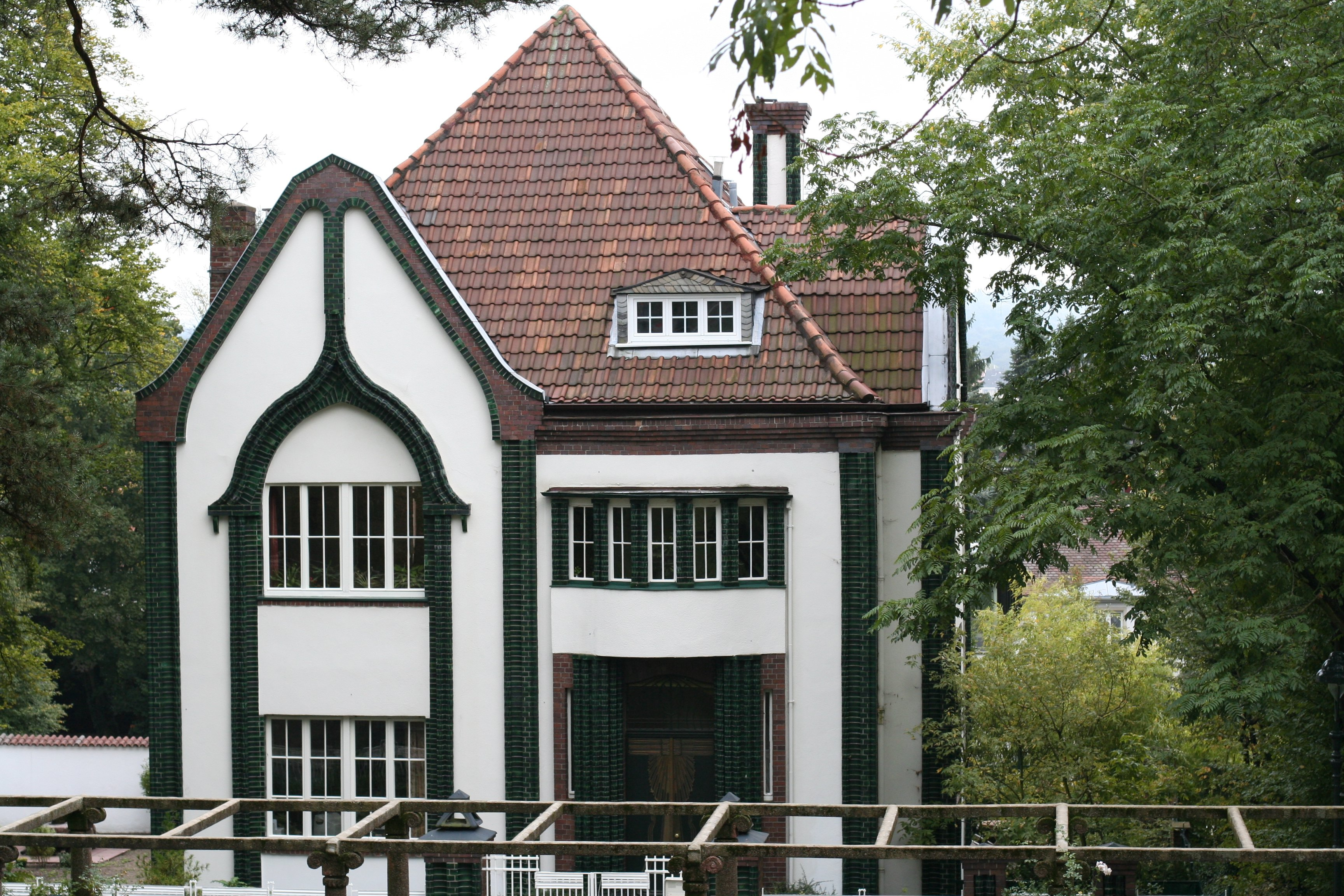 100 Architects' Houses Series #6. Peter Behrens and His 1901 Home in Mathildenhohe, Alexandraweg, Darmstadt