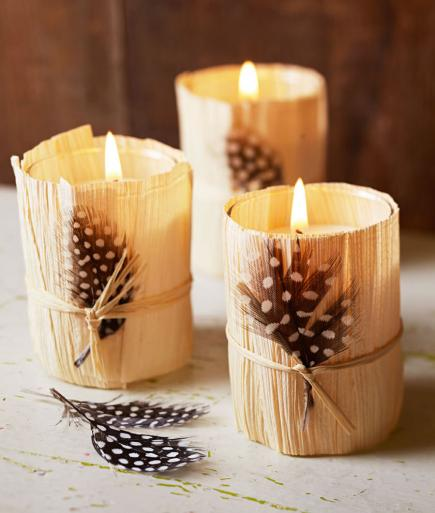 diy candle decor- Warm up Your Home and Prepare for Fall