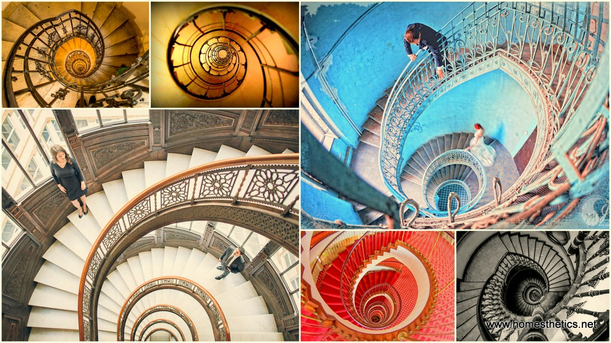 15 Immersive Spiral Staircase Designs Enhancing Architecture World Wide1
