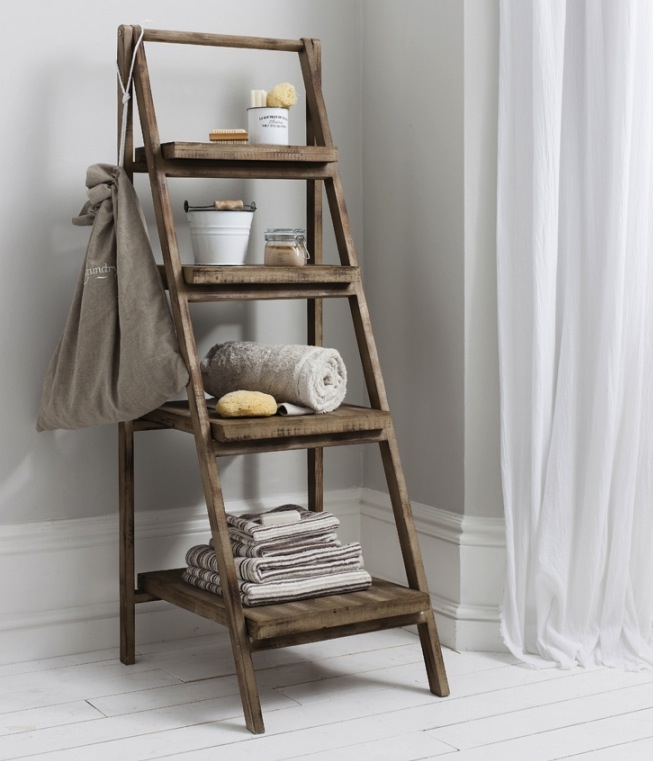 ladder shelf Creative DIY Ideas