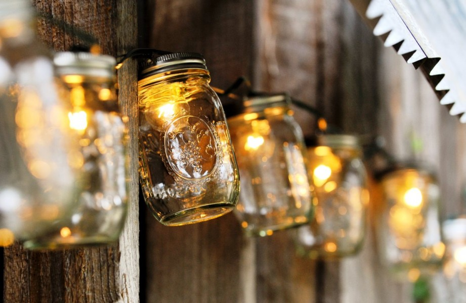 mason jars re purpose Creative DIY Ideas
