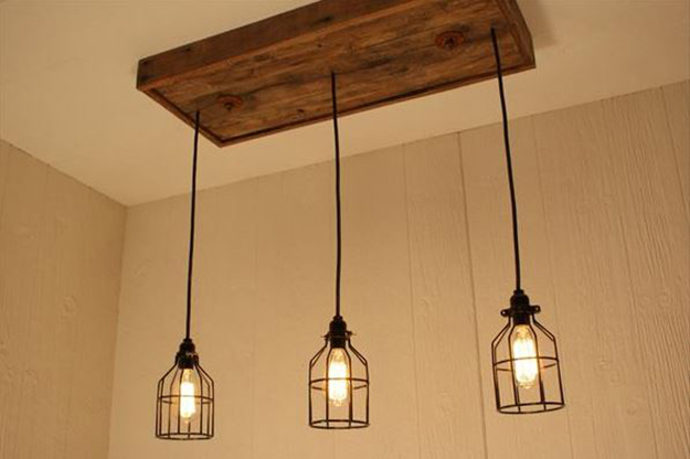 pallet chandelier Creative DIY Ideas