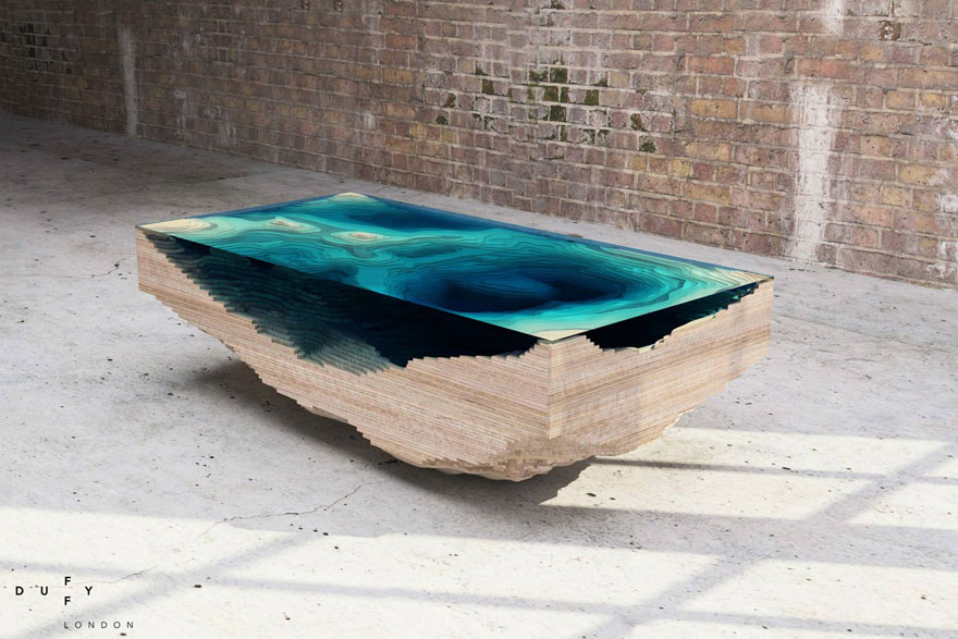 Gaze Into Depths In Your Own Table Design