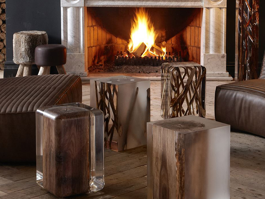 Branches and Logs as Side Tables or End Tables Branches and Logs as Side Tables or End Tables