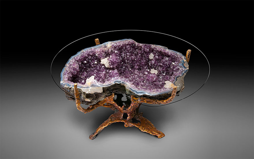 Geode Table -Amethyst Version
