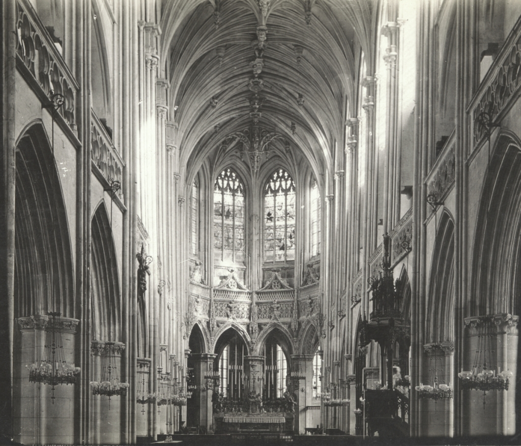 Interior of the Cathedral St Pierre