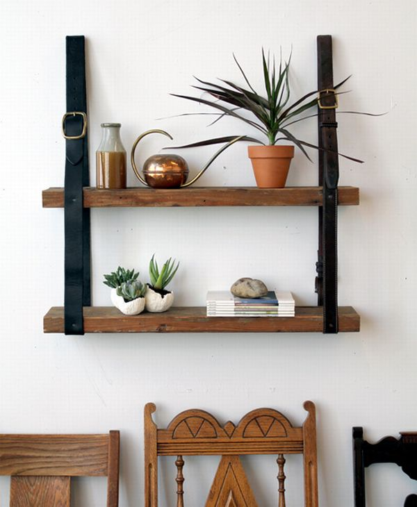 Strap Shelves to the Wall