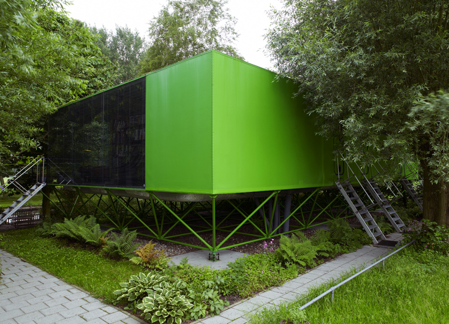 100 Architects' Houses Series #7. Jan Benthem and His Almere House